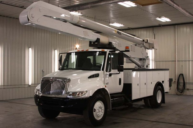 used bucket trucks for sale from I-80 Equipment